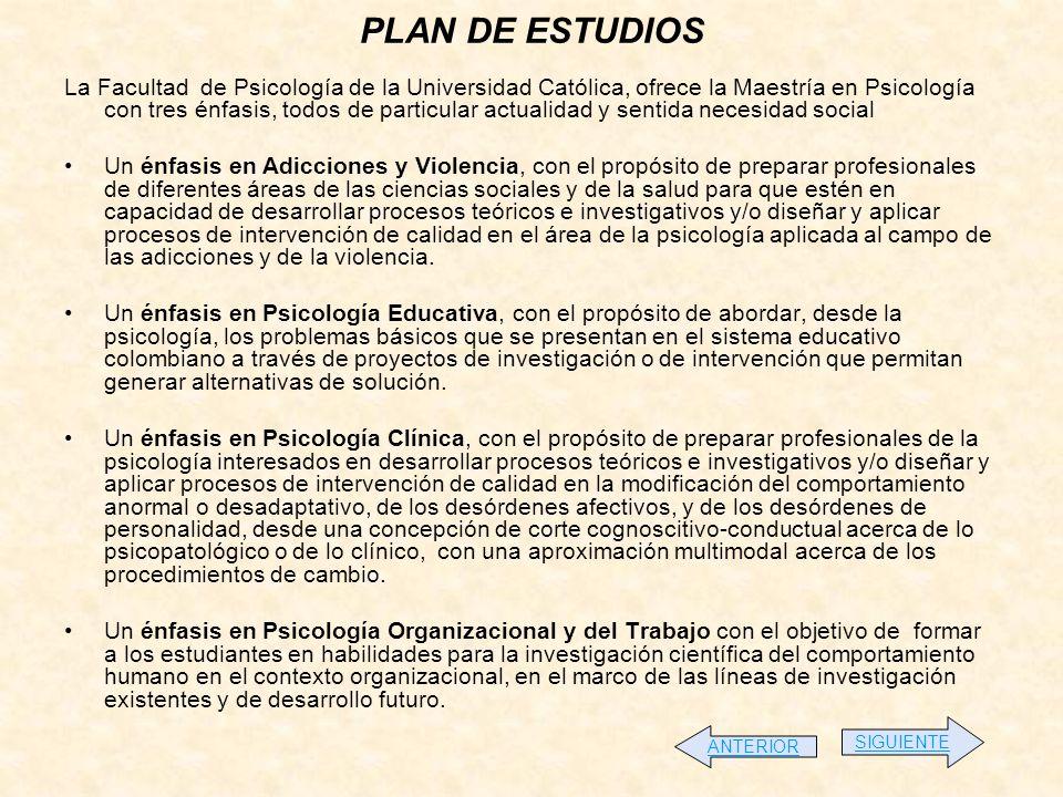 ESPECIALIZACIÓN EN PSICOLOGÍA JURÍDICA DURACIÓN Y HORARIO Dos semestres académicos.