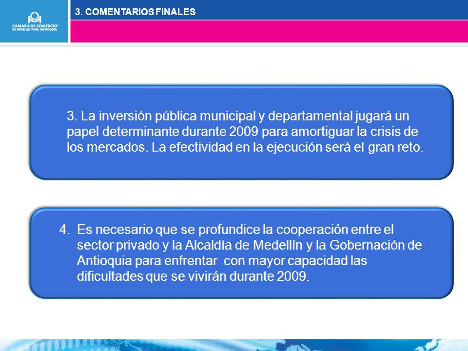 3. COMENTARIOS FINALES 3.