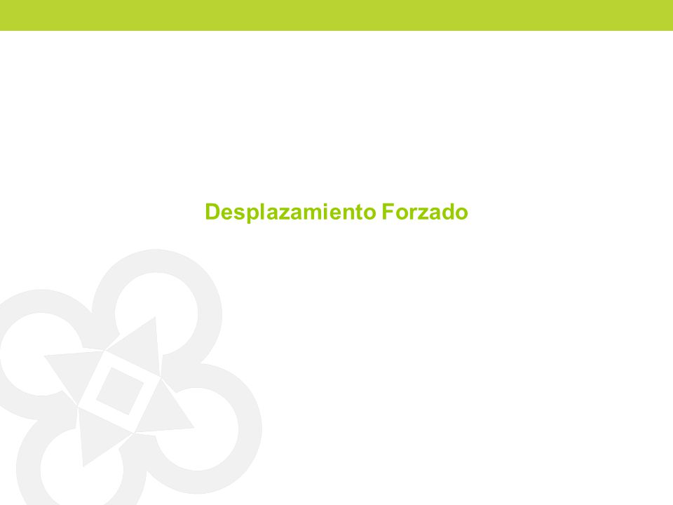 Desplazados Registrados por salida (aproximación 2)