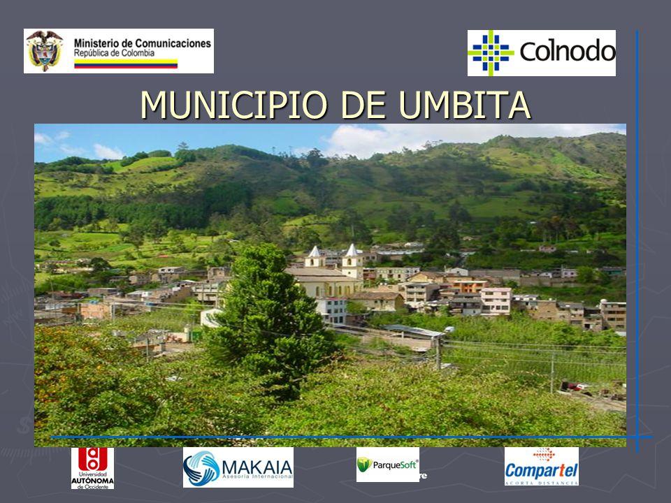 MUNICIPIO DE UMBITA Sucre