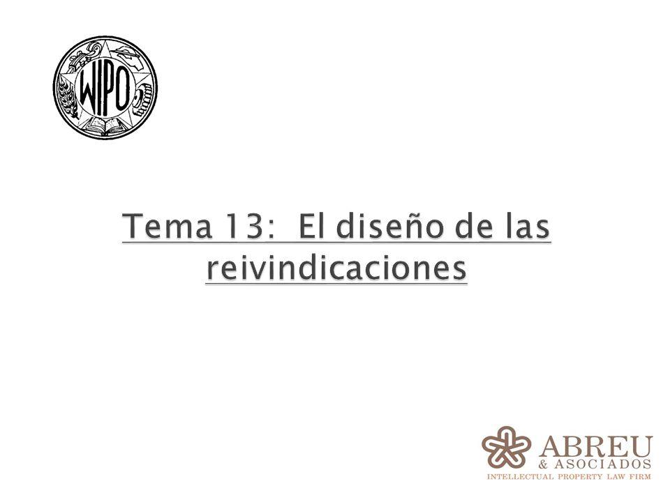 Tema 13: El diseño de las reivindicaciones