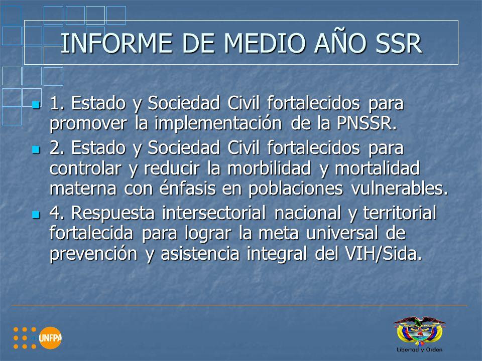 INFORME DE MEDIO AÑO SSR 1.