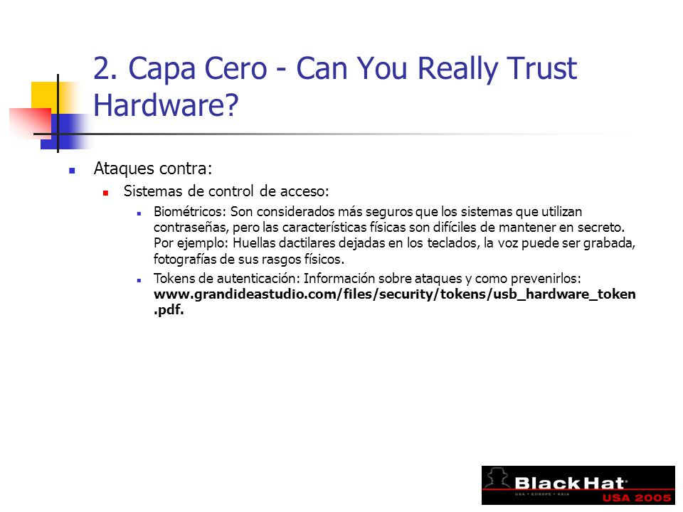 2. Capa Cero - Can You Really Trust Hardware.