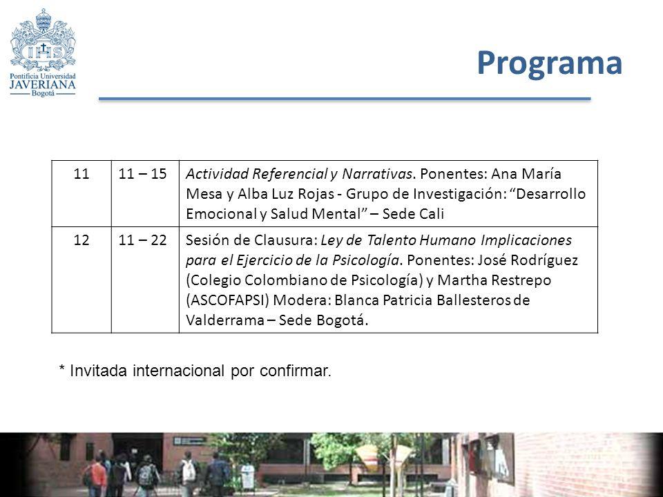 Programa 1111 – 15Actividad Referencial y Narrativas.