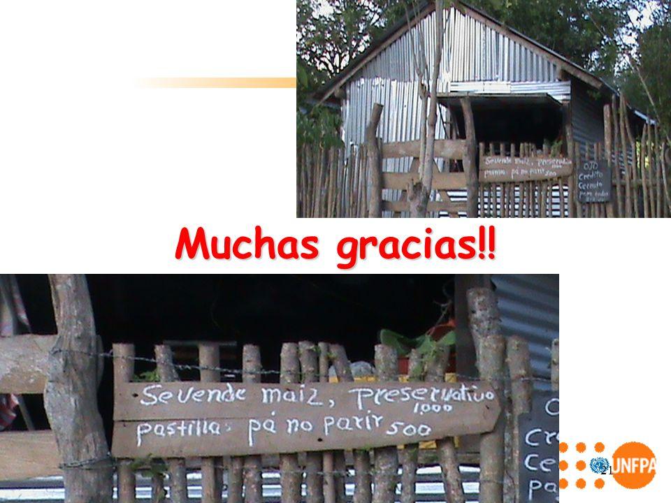 21 Muchas gracias!!