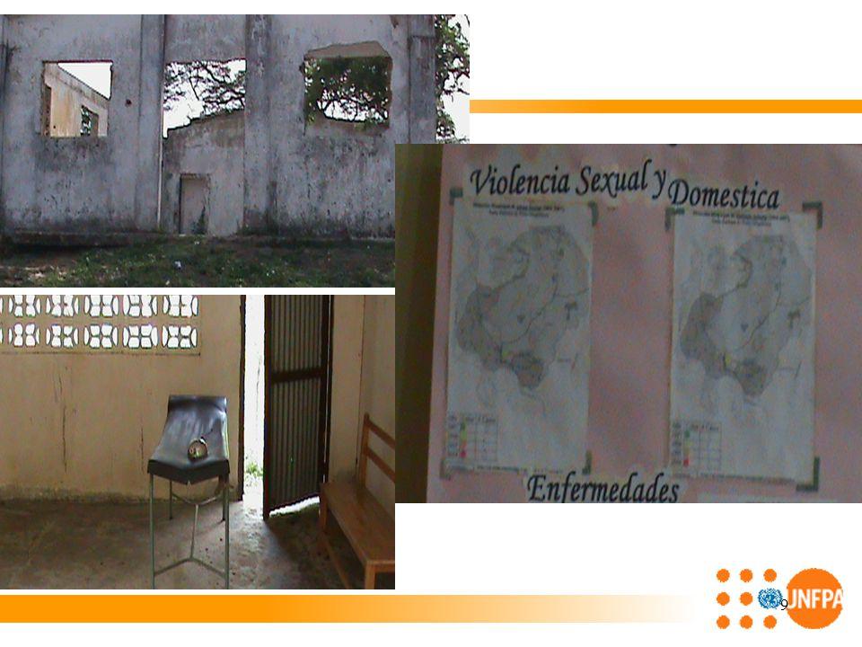 20 Alcance 5: Alcance 5: Las instancias institucionales competentes en la respuesta humanitaria en los territorios, avanzan en la garantía de los DSR de adolescentes, jóvenes y mujeres (IASC, UNETE, CREPADs de Sucre & Bolívar, HOMI, ONG, CR).