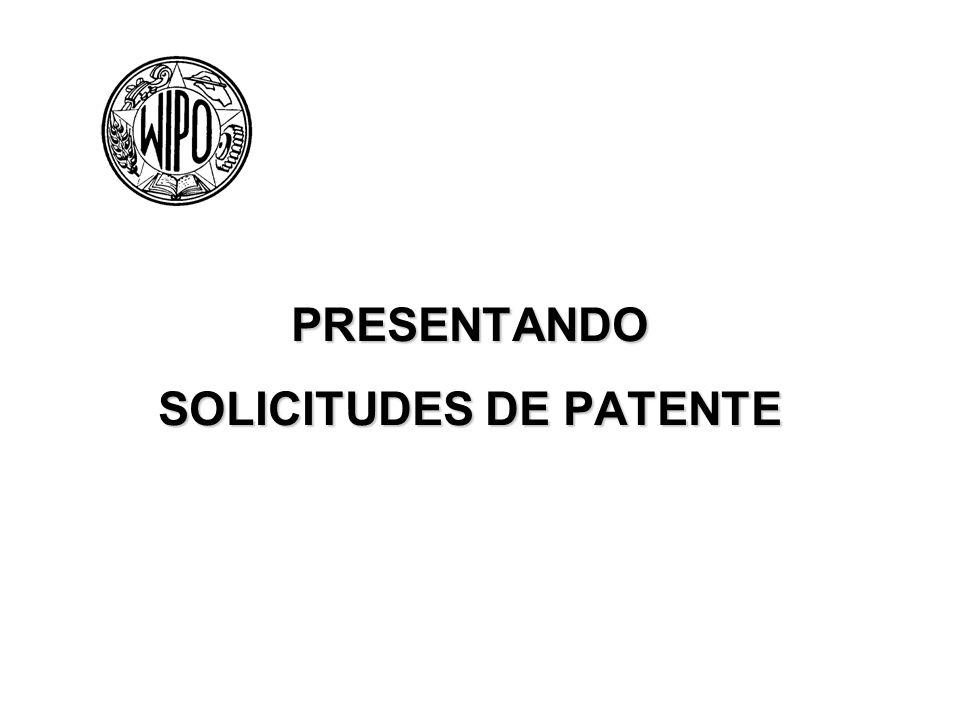 PRESENTANDO SOLICITUDES DE PATENTE