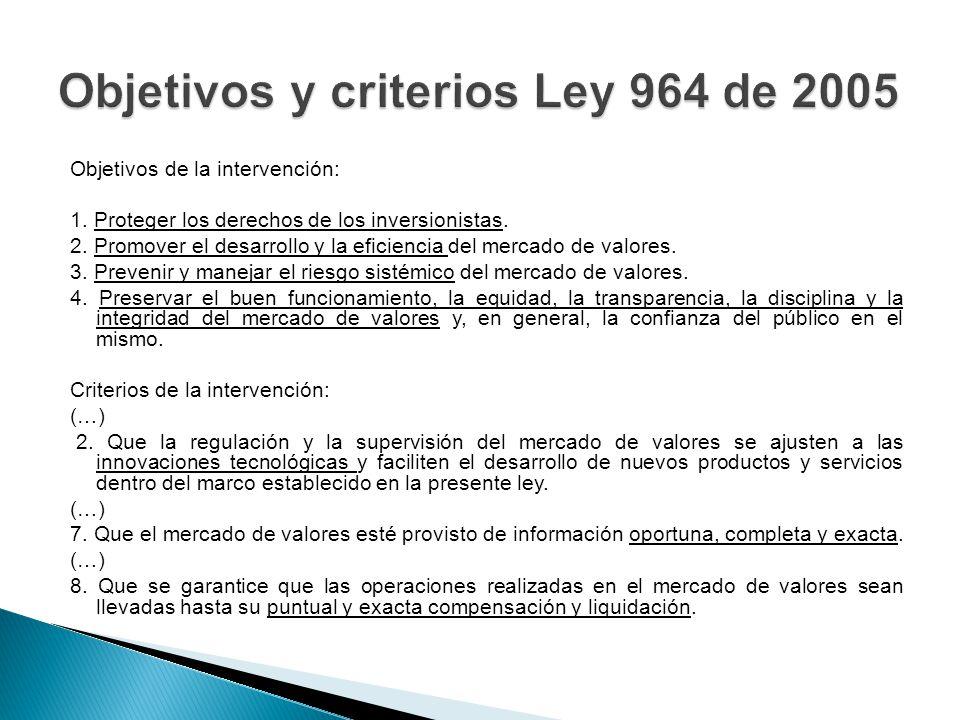 INSTRUCCIONES DE LA SFC Definiciones.