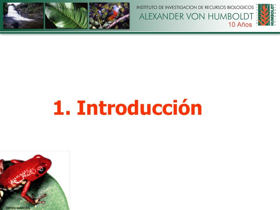 1.Análisis de políticas y normatividad relacionadas con biodiversidad.