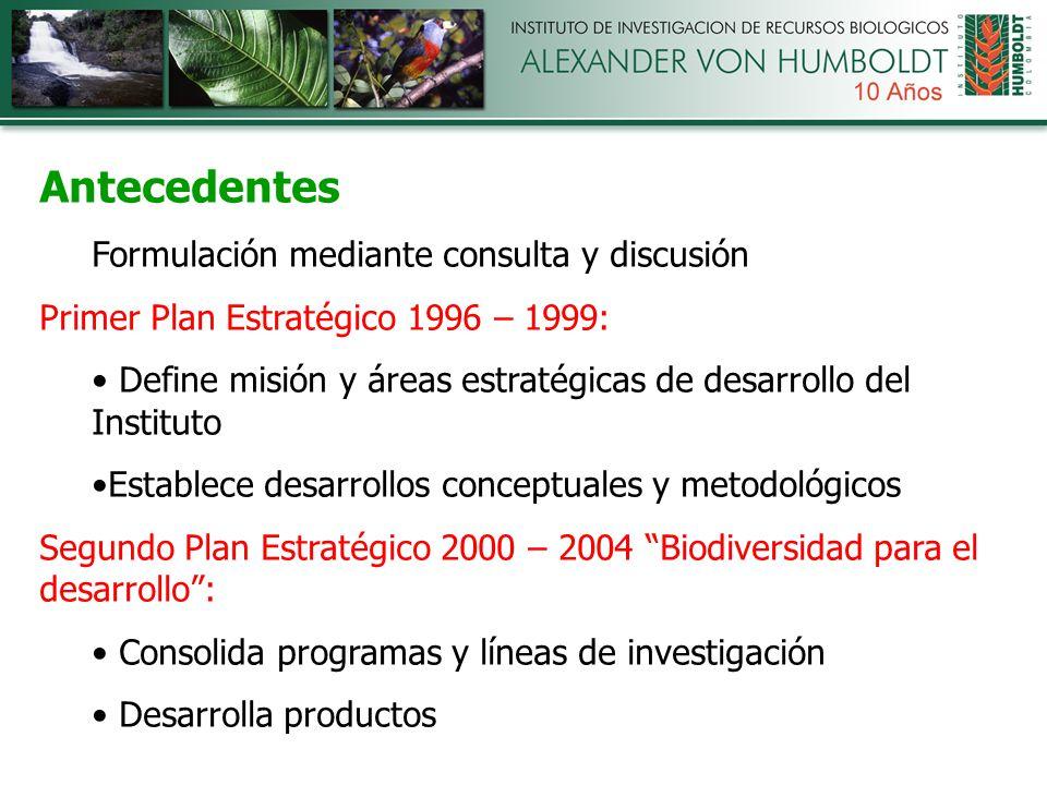 2. Aproximación Metodológica Plan Estratégico 2005-2010