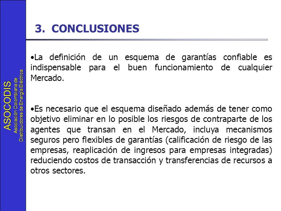 ASOCODIS Asociación Colombiana de Distribuidores de Energía Eléctrica 3.