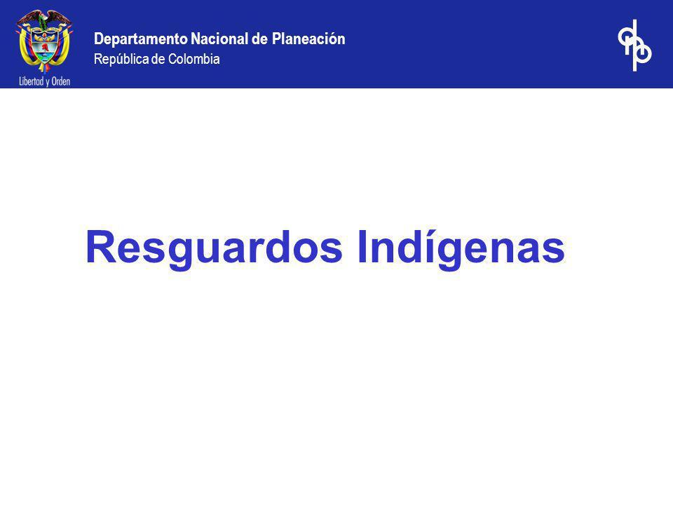 Resguardos Indígenas