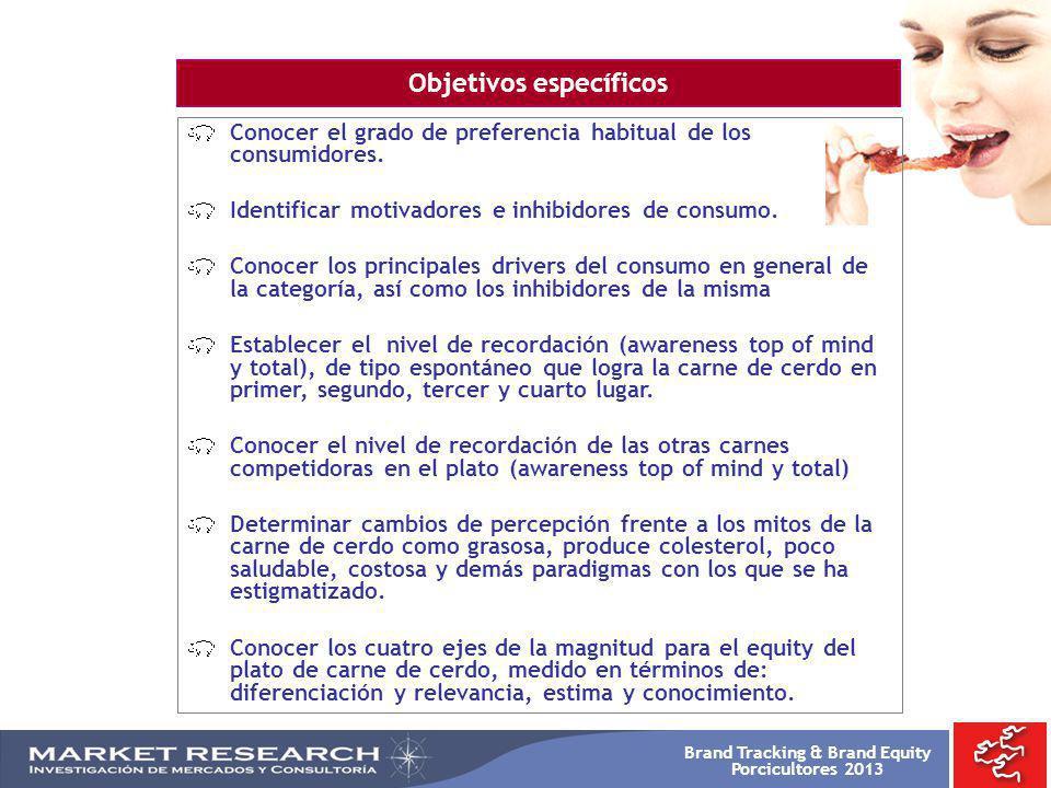 Brand Tracking & Brand Equity Porcicultores 2013 POSITIVO NEGATIVO IMAGEN DE LA CARNE DE CERDO NSE 3 P39-43.