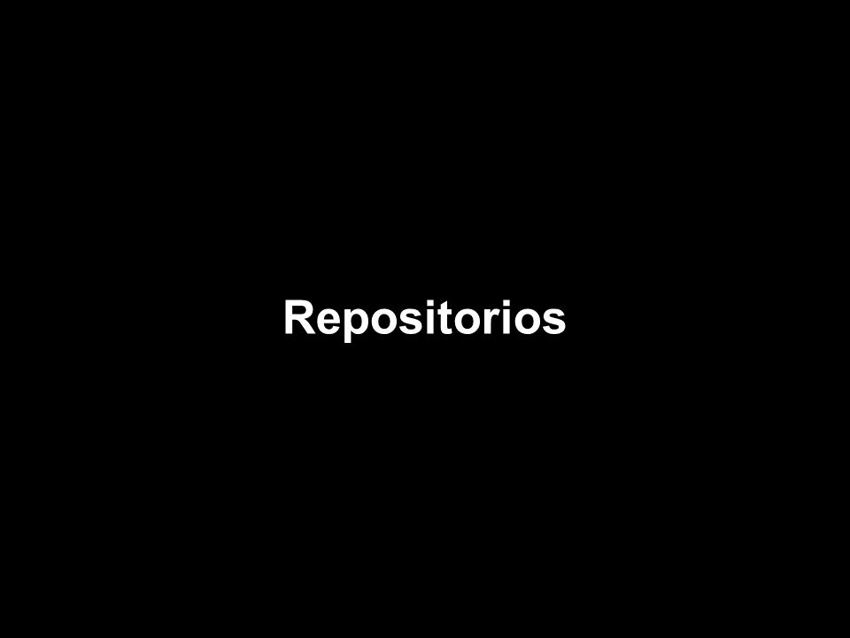 Repositorios
