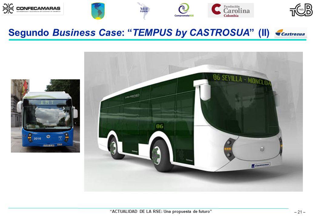 ACTUALIDAD DE LA RSE: Una propuesta de futuro – 21 – Segundo Business Case: TEMPUS by CASTROSUA (II)