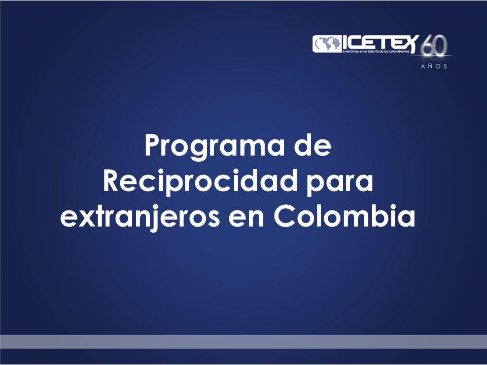 Programa de Reciprocidad para extranjeros en Colombia