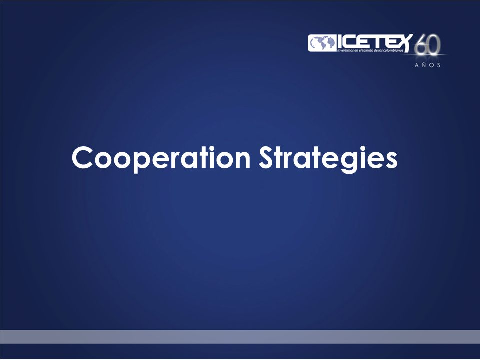 Cooperation Strategies
