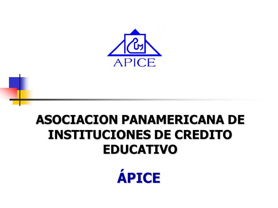 ASOCIACION PANAMERICANA DE INSTITUCIONES DE CREDITO EDUCATIVO ÁPICE