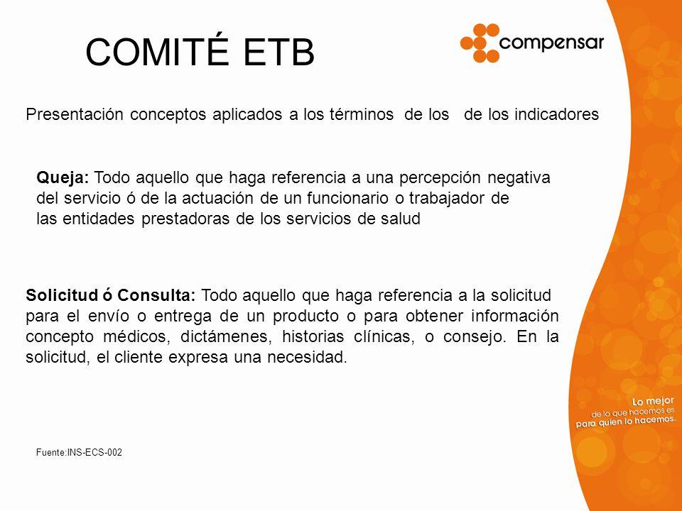 COMITÉ ETB Sugerencia: Todo lo que propone mejorar el servicio, ampliar cobertura para superar los estándares, o nuevos servicios.
