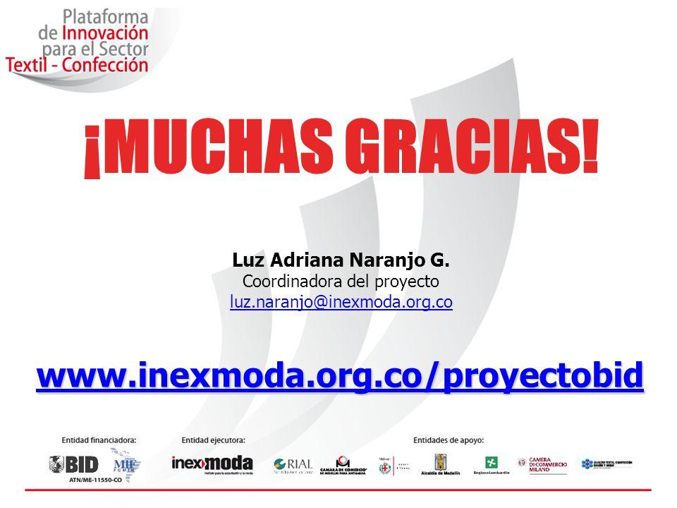 ¡MUCHAS GRACIAS.Luz Adriana Naranjo G.