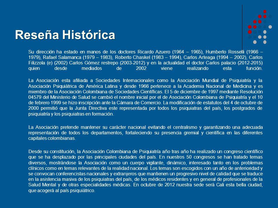 Reseña Histórica Su dirección ha estado en manos de los doctores Ricardo Azuero (1964 – 1965), Humberto Rosselli (1966 – 1979), Rafael Salamanca (1979