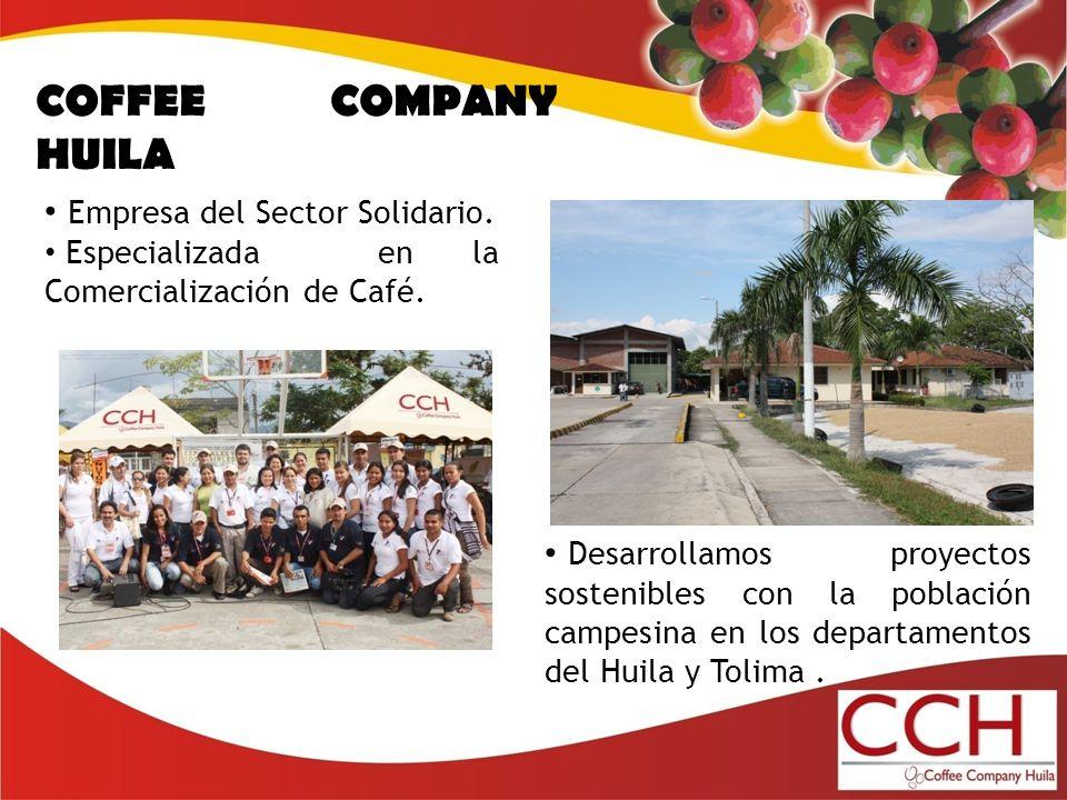 Desarrollamos proyectos sostenibles con la población campesina en los departamentos del Huila y Tolima.