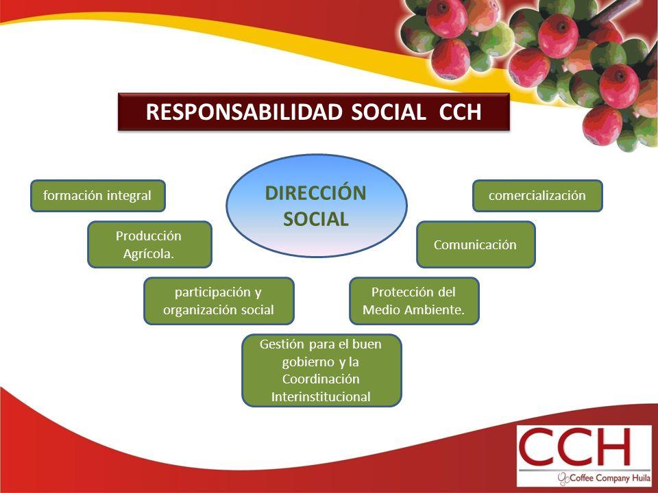 RESPONSABILIDAD SOCIAL CCH Gestión para el buen gobierno y la Coordinación Interinstitucional Protección del Medio Ambiente.