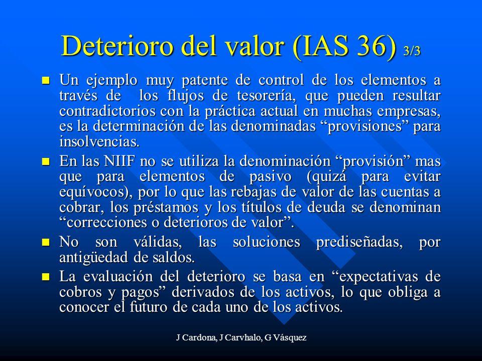 J Cardona, J Carvhalo, G Vásquez Un ejemplo muy patente de control de los elementos a través de los flujos de tesorería, que pueden resultar contradic