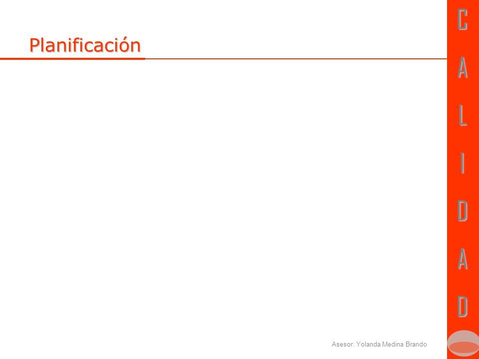 CALIDADCALIDAD Planificación de la realización del producto Importante para tener en cuenta: Objeto del contrato Organigrama del proyecto ResponsabilidadesCronograma Admón.