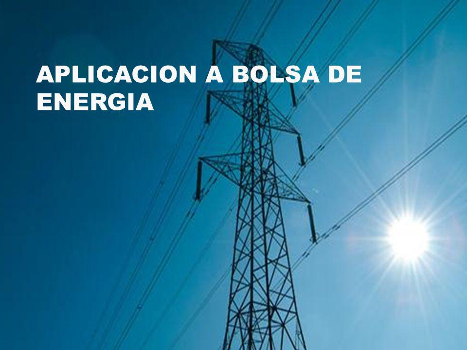 APLICACION A BOLSA DE ENERGIA
