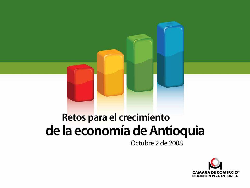 Contenido A.La economía regional disminuye ritmo de crecimiento.