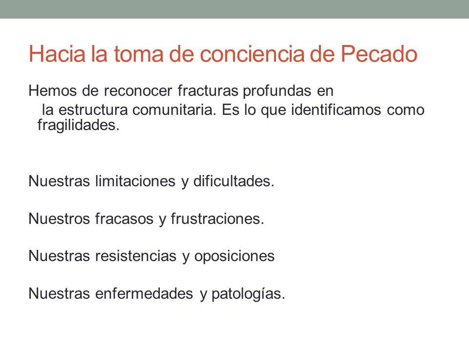La Reconciliación un proceso de amor (2) Posibilidad de transformación político- social.