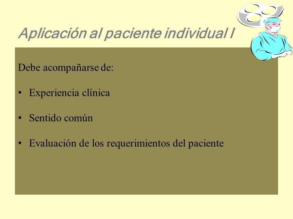 Fuerza de la recomendaciónNivel de la evidencia A: Existe adecuada evidencia científica para adoptar una práctica.I, II- 1 B: Existe cierta evidencia