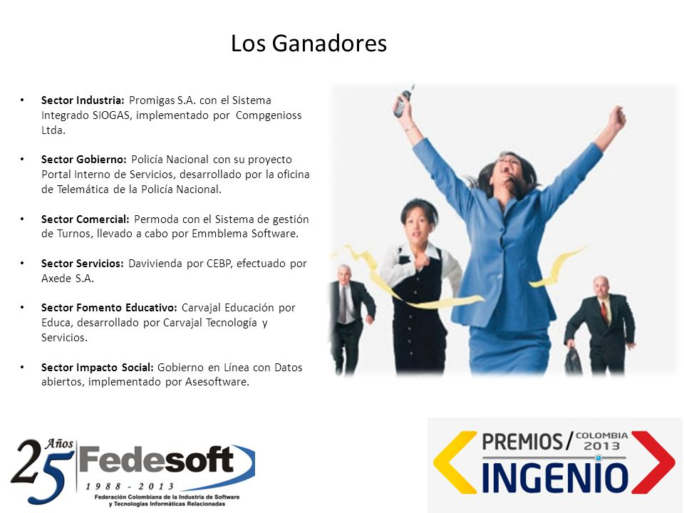 Sector Industria: Promigas S.A. con el Sistema Integrado SIOGAS, implementado por Compgenioss Ltda.