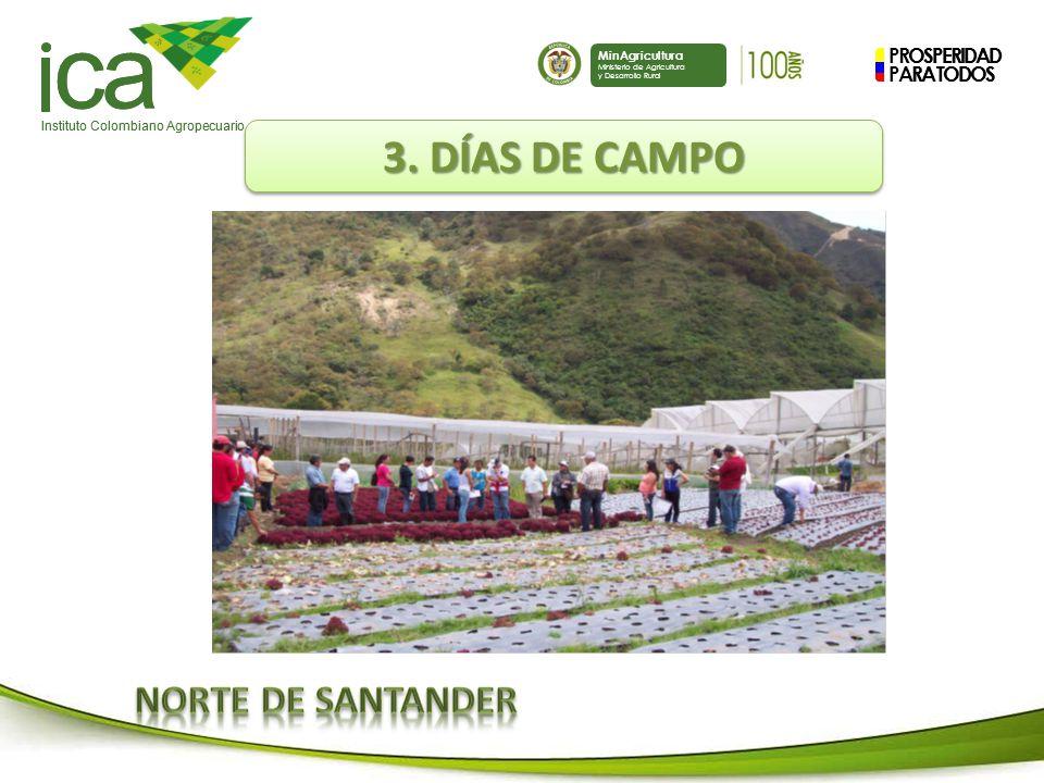PROSPERIDAD PARA TODOS ca Instituto Colombiano Agropecuario MinAgricultura Ministerio de Agricultura y Desarrollo Rural PROSPERIDAD PARA TODOS ca Instituto Colombiano Agropecuario MinAgricultura Ministerio de Agricultura y Desarrollo Rural 3.