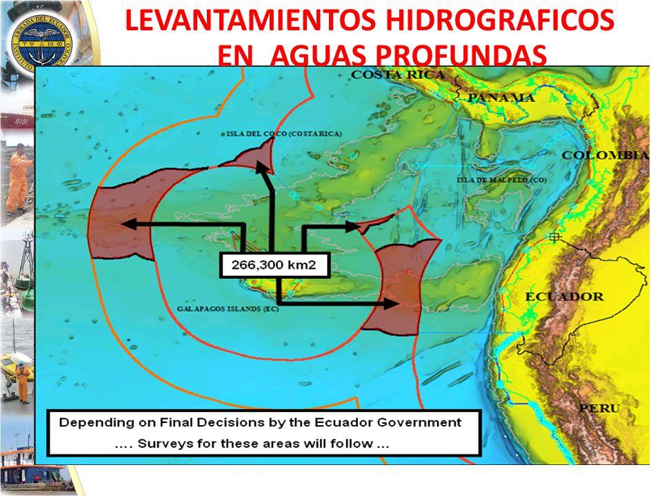 LEVANTAMIENTOS HIDROGRAFICOS EN AGUAS PROFUNDAS