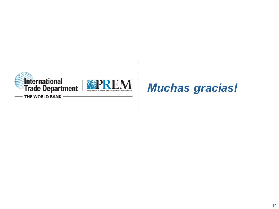 Muchas gracias! 19
