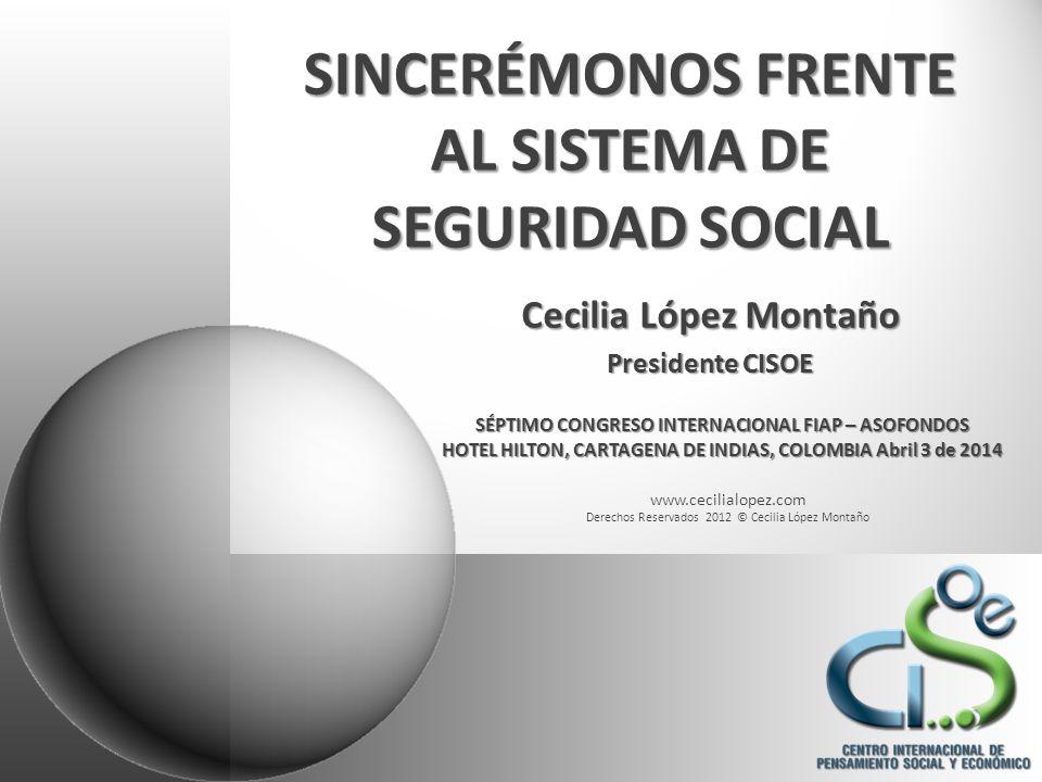 www.cecilialopez.com Derechos Reservados 2010 © Cecilia López Montaño CONTENIDO I.