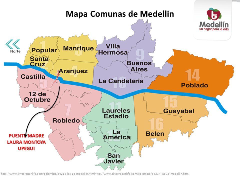 Mapa Comunas de Medellin http://www.skyscraperlife.com/colombia/54214-las-16-medellin.htmlhttp://www.skyscraperlife.com/colombia/54214-las-16-medellin