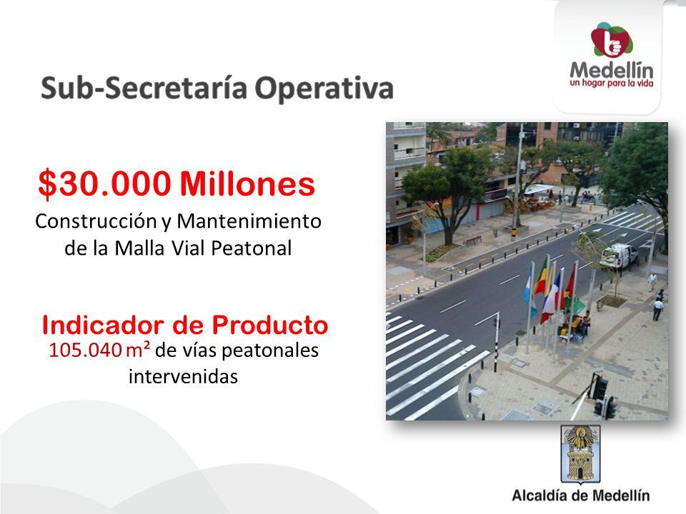 Durante el 2012, la Alcaldía de Medellín puso en funcionamiento cuatro obras viales en El Poblado, a cargo del Fondo de Valorización – Fonvalmed y ejecutadas por la Secretaría de Infraestructura Física.