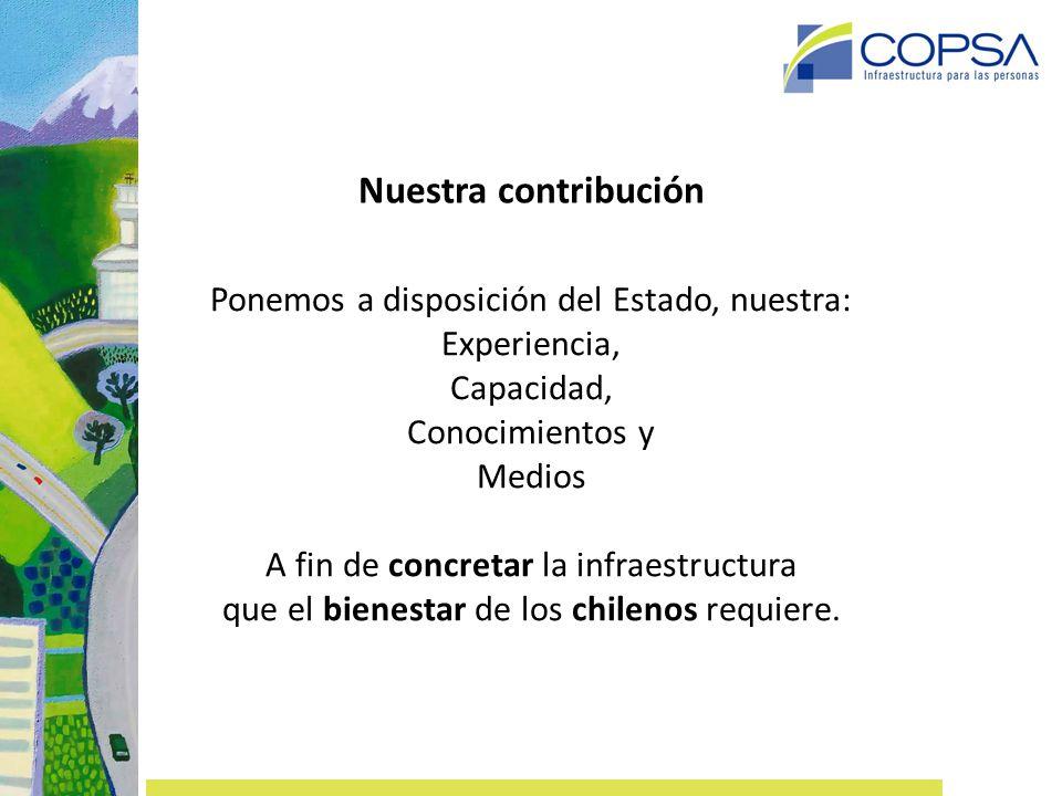 Nuestra contribución: Un Mejor Estándar para el país AUTOPISTA CENTRAL AEROPUERTO DE SANTIAGO