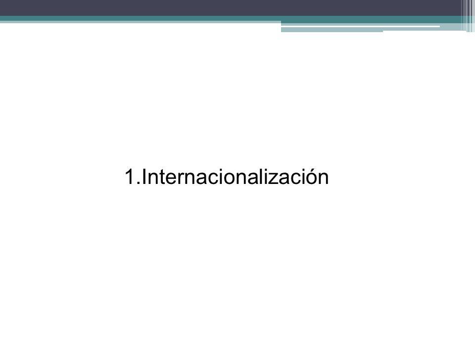 Globalización El éxito económico de todo país depende de su inserción a la economía global.