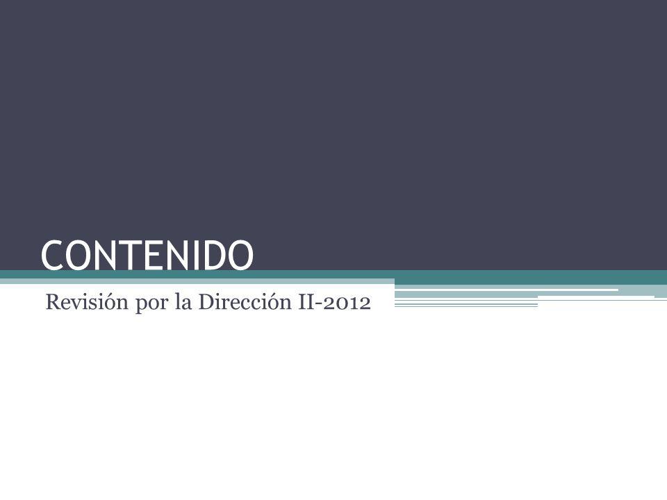 Asegurar la conveniencia, adecuación y eficacia continua del Sistema de Gestión de la Calidad de la Asociación Colombiana de Psiquiatría de acuerdo a su desempeño durante el segundo semestre del 2012.