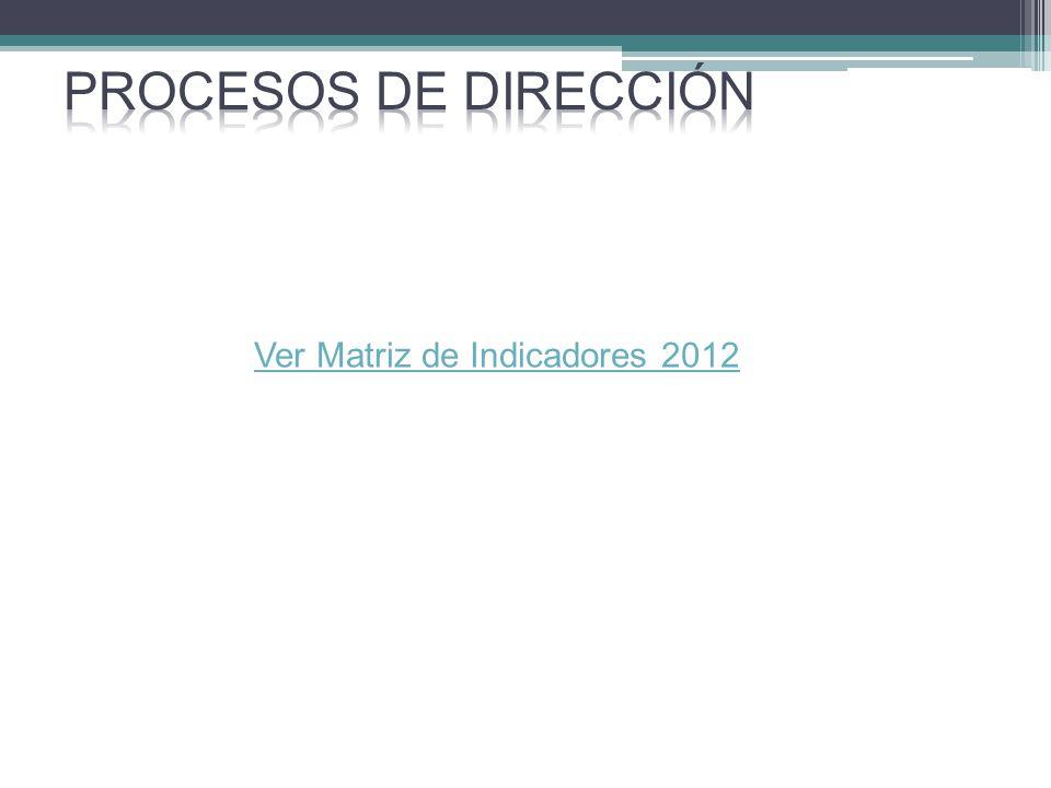 Ver Matriz de Indicadores 2012