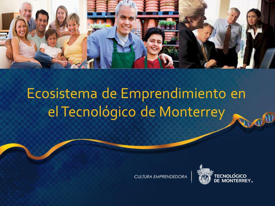 1 Ecosistema de Emprendimiento en el Tecnológico de Monterrey