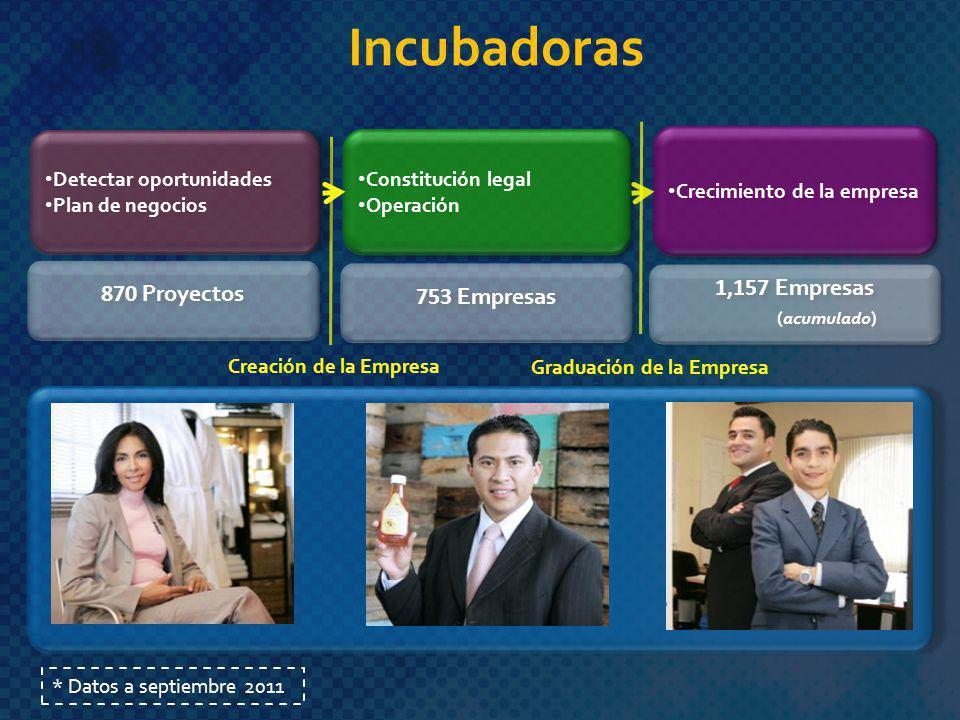 Detectar oportunidades Plan de negocios Detectar oportunidades Plan de negocios Constitución legal Operación Constitución legal Operación Crecimiento