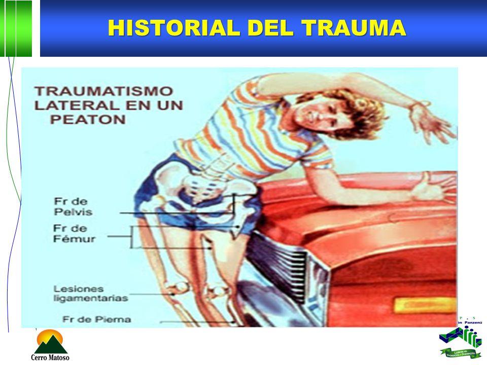 HISTORIAL DEL TRAUMA