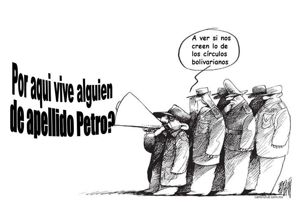 El General Padilla sostuvo que lo ocurrido fue algo absurdo, porque dos miembros del ejército llegaron hasta la residencia de la familia Petro, en labores de contrainteligencia, intentando confirmar informaciones que les indicaban que algunos miembros de la Fuerza Pública estarían participando de reuniones con simpatizantes de los círculos bolivarianos, afines al presidente Hugo Chávez.