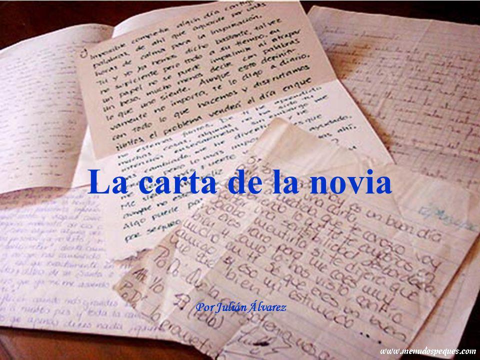 Un soldado español destinado en Irak recibe una carta de su novia desde España.