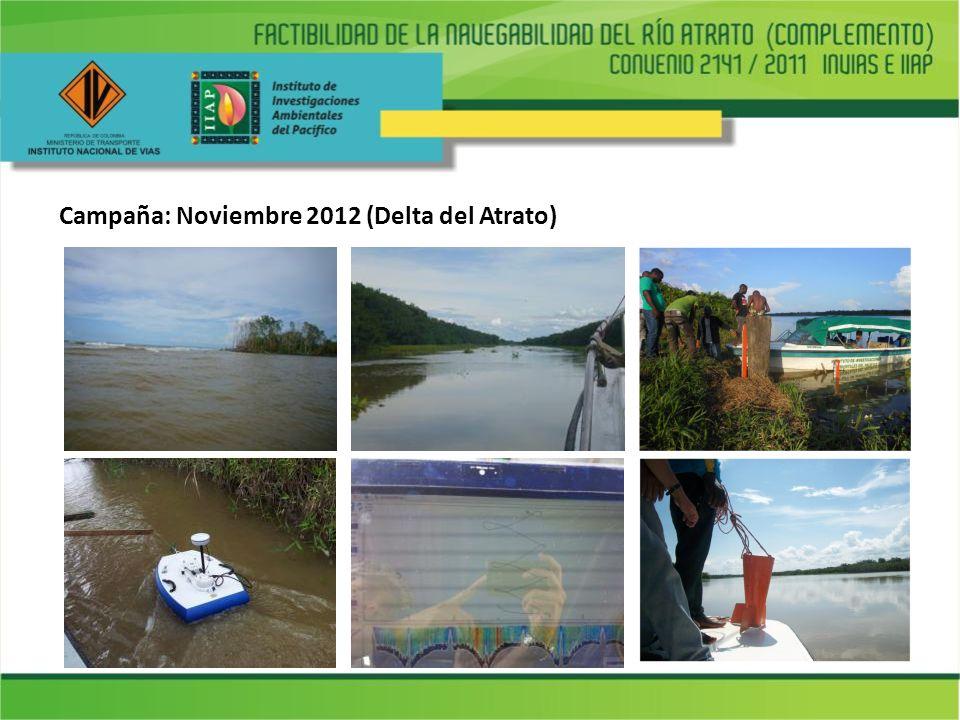 Campaña: Noviembre 2012 (Delta del Atrato)